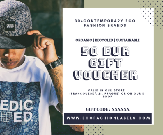 Eco Fashion Labels Gift Voucher