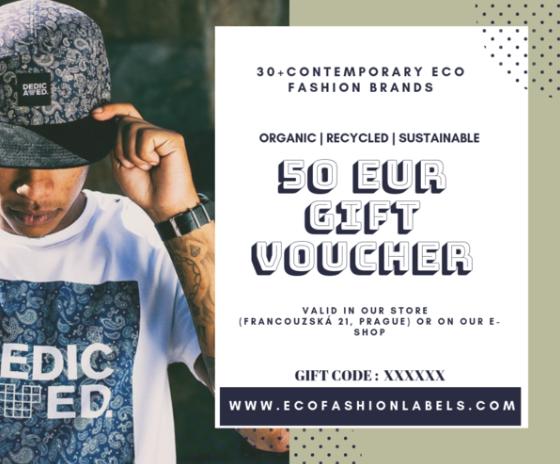 Eco Fashion Labels Gift Voucher